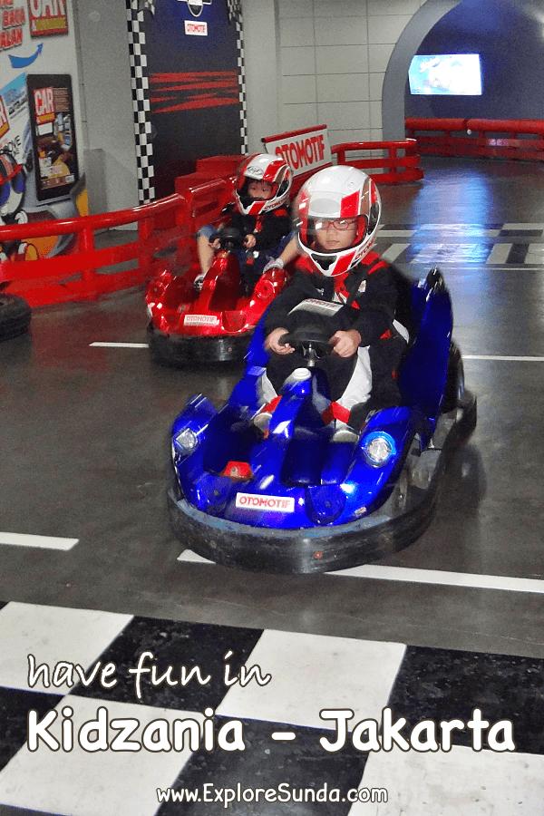 Have fun in Kidzania Jakarta | The children city where children can play pretend | Try as many professions as your children want | #ExploreSunda #Kidzania