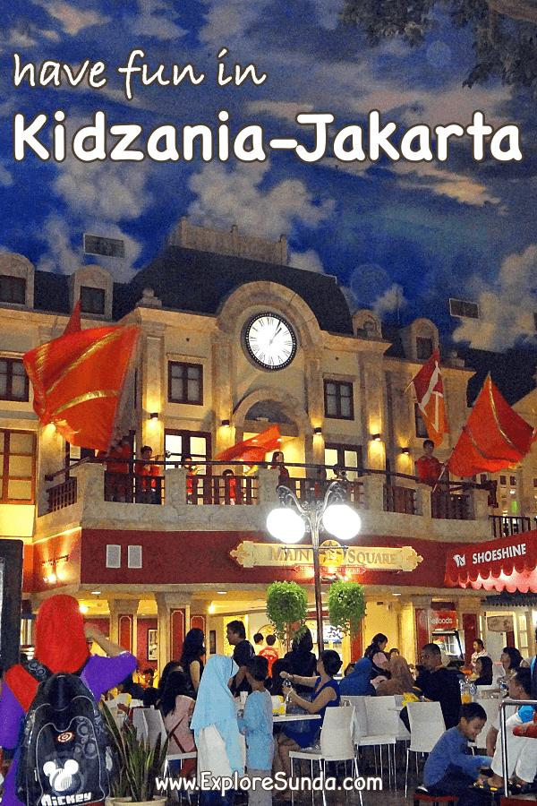 Have fun in #Kidzania #Jakarta | Try as many professions as you want | #ExploreSunda.com