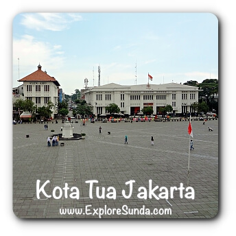 Kota Tua Jakarta, where the past meet the present