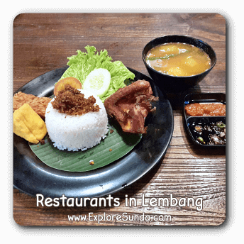 Restaurants in Lembang