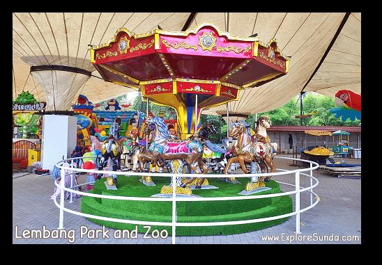 Storyland the playground at Lembang Park and Zoo