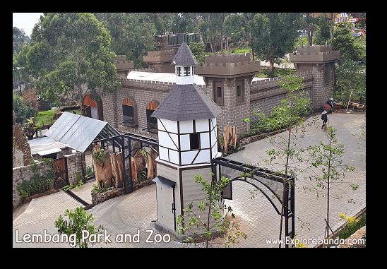 Reptile Castle at Lembang Park and Zoo