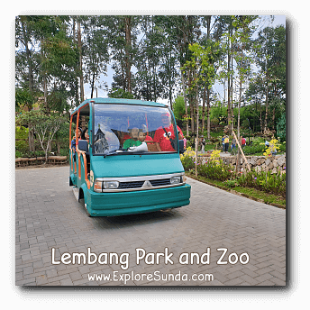 A Free Shuttle Ride at Lembang Park and Zoo