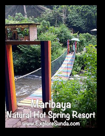 Rainbow Bridge at Maribaya Natural Hot Spring Resort, Lembang