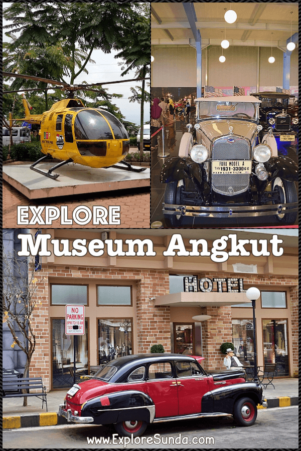 Explore #MuseumAngkut at #JatimPark complex in #Batu #Malang and see many kinds of transportation from ages ago | #ExploreSunda.com