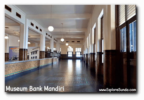 The inside of Museum Bank Mandiri at Kota Tua Jakarta