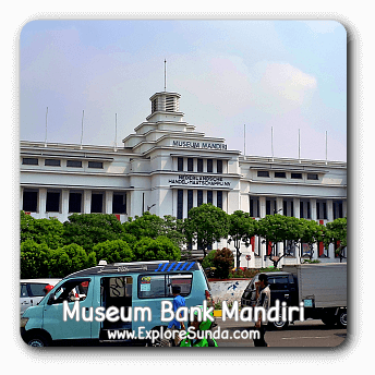 Mandiri Bank Museum at Kota Tua Jakarta