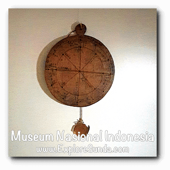 Wuku calendar from Bali - a collection of Museum Gajah (The National Museum of Indonesia), Jakarta