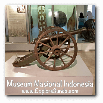 Canon - a collection of Museum Gajah (The National Museum of Indonesia), Jakarta
