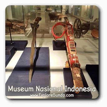 Keris in National Museum of Indonesia [Museum Gajah], Jakarta.