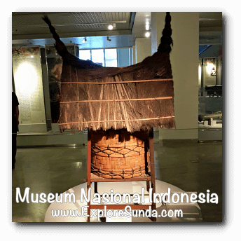 Miniature of a silo - a collection of Museum Gajah (The National Museum of Indonesia), Jakarta