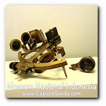 Sextant - a collection of Museum Gajah (The National Museum of Indonesia), Jakarta