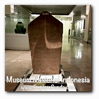 Condrogeni inscription from Ponorogo, East Java dated 1505AD - a collection of Museum Gajah (The National Museum of Indonesia), Jakarta