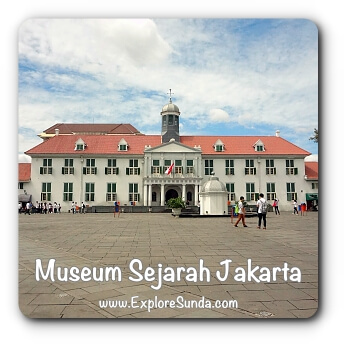 Museum Fatahillah a.k.a. Museum Sejarah Jakarta - Jakarta History Museum at Kota Tua Jakarta