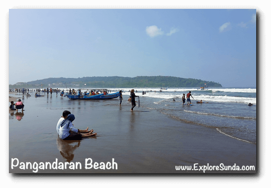 One beautiful Sunday morning, a perfect day to have fun in Pangandaran!