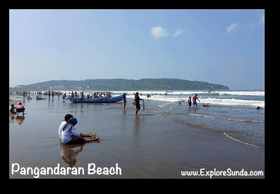 One beautiful Sunday morning, a perfect day to have fun in Pangandaran!