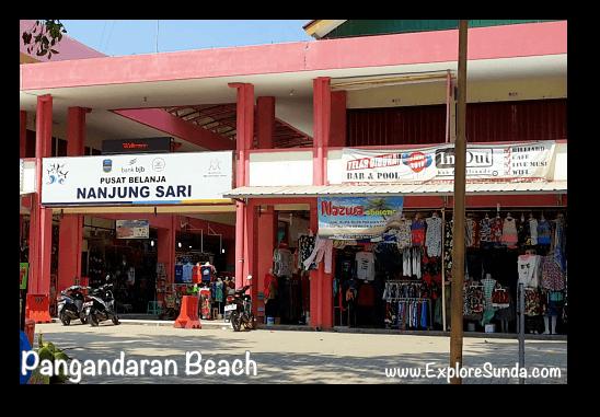 Nanjung Sari shopping centre, Pangandaran