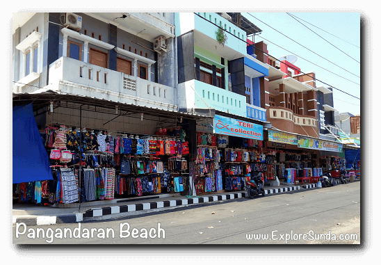 Shophouses in Pangandaran
