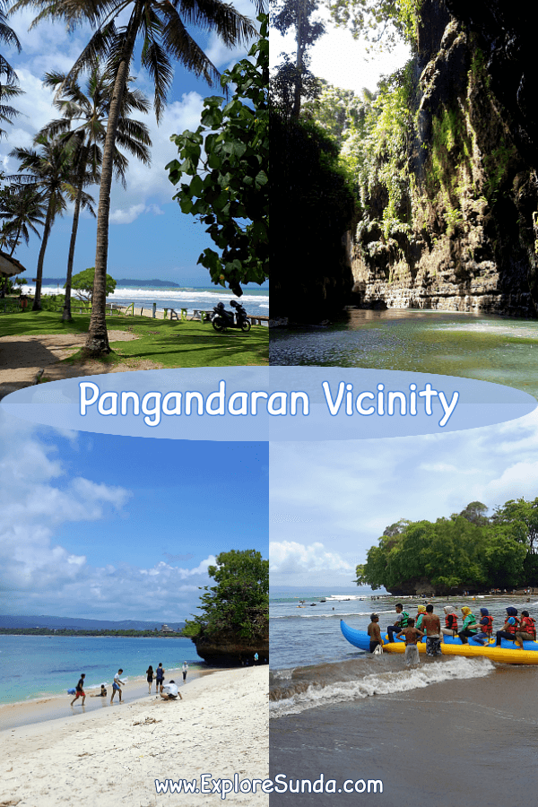 #Pangandaran Vicinity | Explore the beautiful beaches of #BatuKaras beach and #Karapyak beach as well as #GreenCanyon and #PananjungNatureReserve | #ExploreSunda