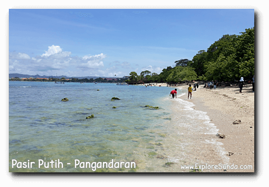 Have fun in Pasir Putih, Pangandaran.