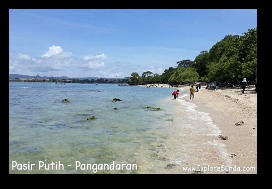 Have fun in Pasir Putih, Pangandaran.