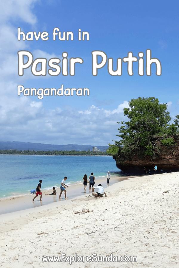 Visit #PasirPutih beach in #Pangandaran | #ExploreSunda