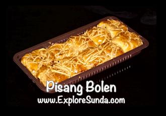 Pisang Bolen, a famous snack from Bandung