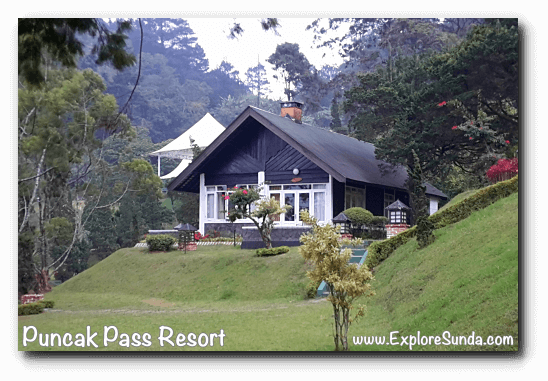 Bungalow in Puncak Pass Resort.