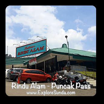 Rindu Alam Restaurant - Puncak Pass