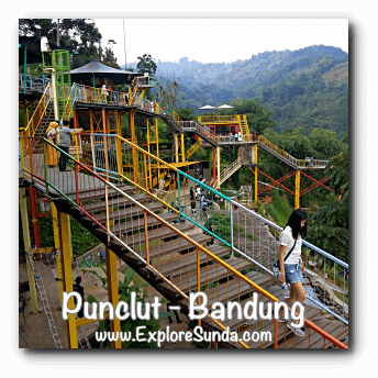 D'Dieuland in Kawasan Wisata Punclut Bandung
