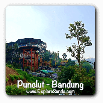 Punclut: tasty dining with Bandung view