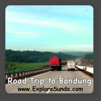 Road trip to Bandung, Indonesia.