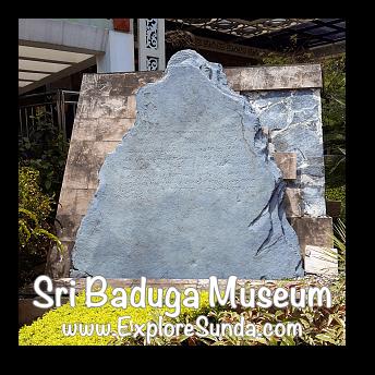 Batu Tulis Inscription in Sri Baduga Museum, Bandung