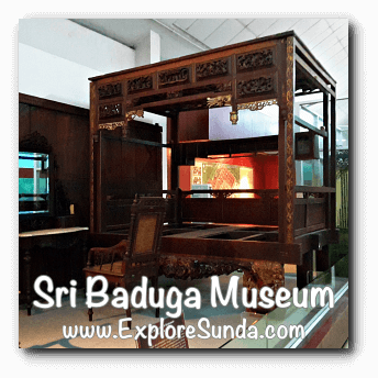 A model of old bed room in Sri Baduga Museum, Bandung