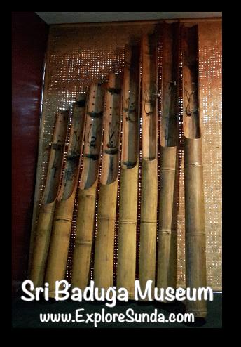 Calung Bumbung in Sri Baduga Museum, Bandung