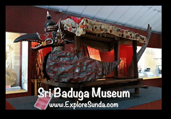 A palanquin called Tandu Garuda Mina in Sri Baduga Museum