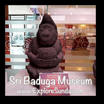 Replica of Pajajaran statue at Sri Baduga Museum, Bandung