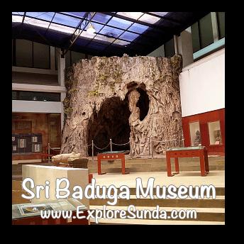 Replica of Pawon cave where the pawon man found, Sri Baduga Museum, Bandung