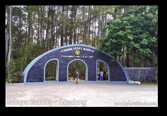 Gate One of Taman Hutan Raya Ir. H. Djoeanda | TahuraJuanda at DagoPakar, Bandung.