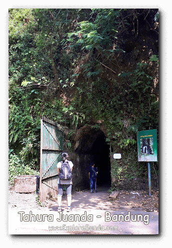 The back entrance of Goa Belanda (the Dutch bunker) in Tahura Juanda, Dago Pakar Bandung.