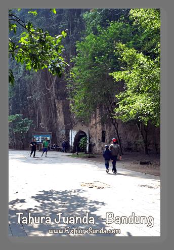 Parks and gardens in the land of Sunda: Bunkers at Taman Hutan Raya (Tahura) Juanda - Dago Bandung.