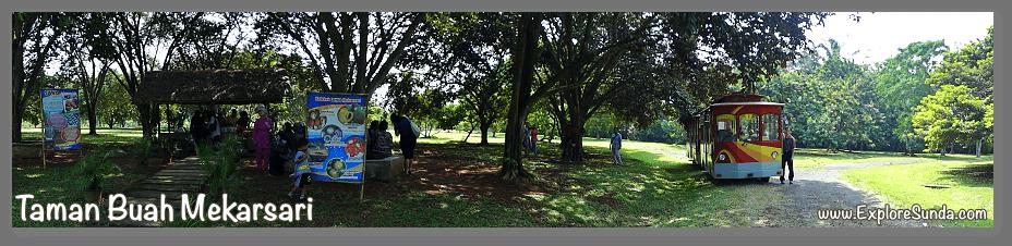 Parks and gardens in the land of Sunda: Taman Buah Mekarsari.