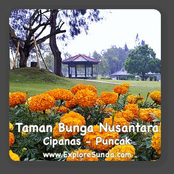 Taman Bunga Nusantara in Cipanas, Puncak.