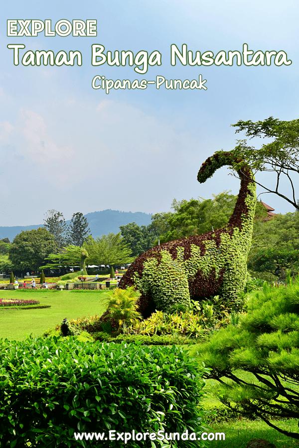 Explore #TamanBungaNusatara at #Cipanas #PuncakPass   See the gorgeous #FlowerGarden with its many themes and topiaries   #ExploreSunda.com