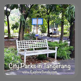 City parks in Tangerang