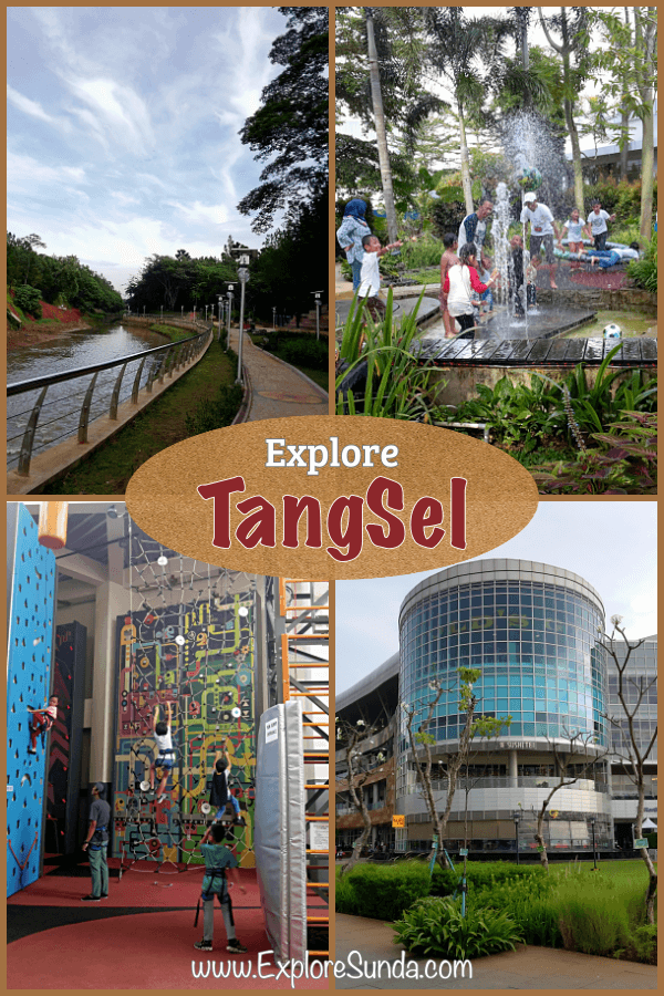 Things to do in #TangerangSelatan - #TangSel | from shopping to exercise and outdoor fun, they are all ready for you to explore... #ExploreSunda