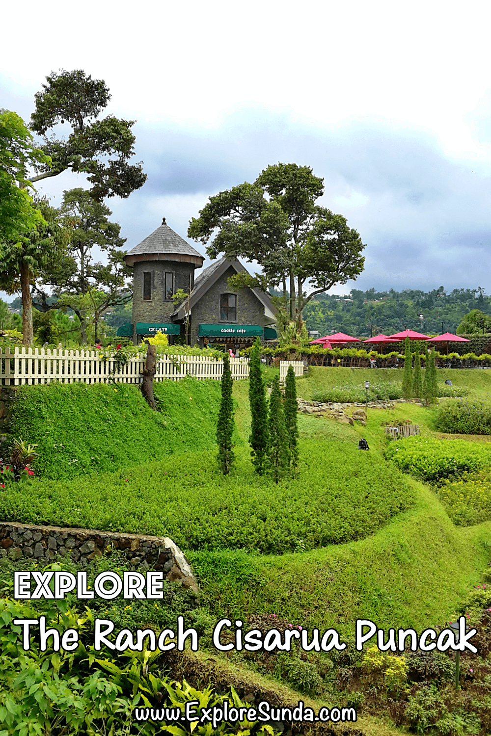 Explore The Ranch Cisarua in Puncak Bogor | Ride a horse like Robin Hood, shoot arrows to earn a prize, feed the rabbits, herd sheep, and enjoy the gorgeous view of The Ranch Cisarua | #ExploreSunda
