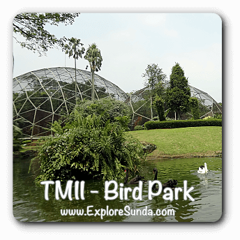 Bird Park at Taman Mini Indonesia Indah