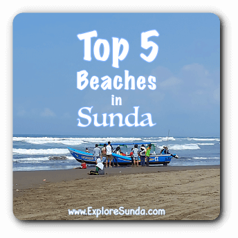 Top Five Beaches in Sunda