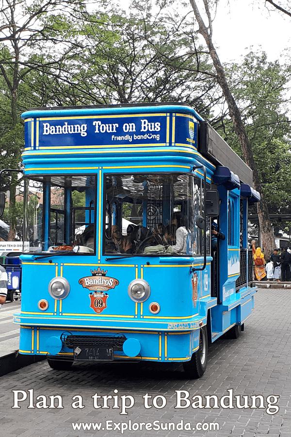 Plan a trip to Bandung, Indonesia.